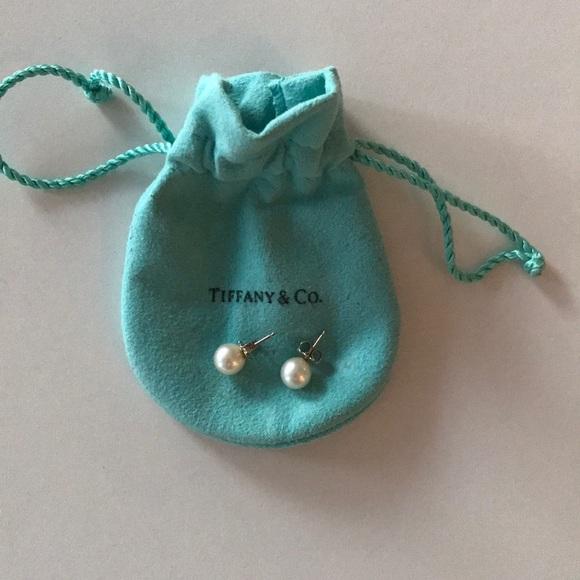 Tiffany & Co. Jewelry - TIFFANY PEARL STUD EARRINGS
